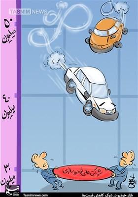 کاریکاتور/ باد خودرو خوابید!!!