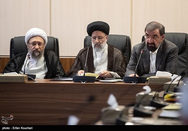 غیبت روحانی در جلسه امروز مجمع تشخیص مصلحت+ عکس