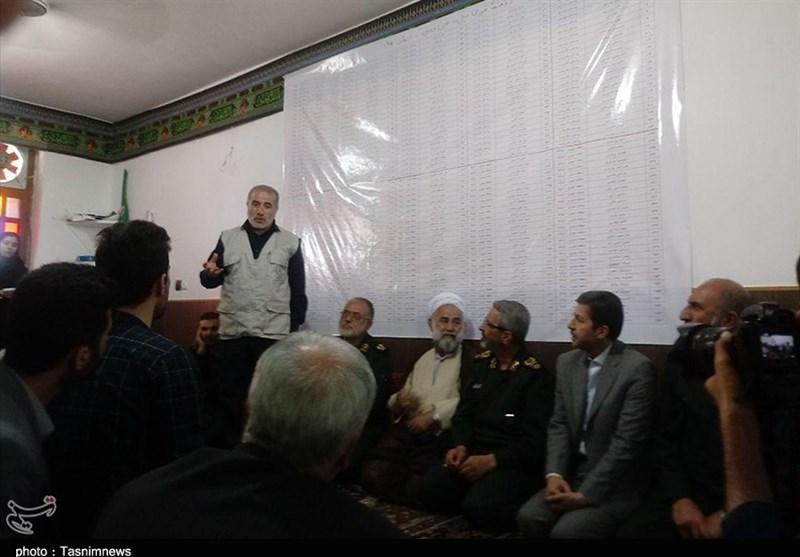 رئیس سازمان بسیج مستضعفین از مناطق سیلزده مازندران بازدید کرد + فیلم