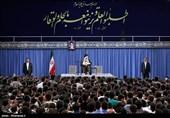 قائد الثورة : لم تکن لدی قناعة کاملة بالطریقة التی تم بها تنفیذ الاتفاق النووی