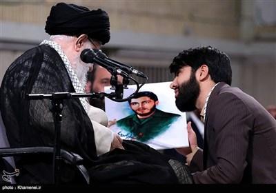 طلبہ اور طالبات کی امام خامنہ ای سے ملاقات