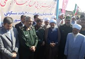 سردار غیبپرور: تا پایان بازسازی مناطق سیلزده در کنار مردم هستیم