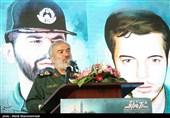 سخنرانی سردار علی فدوی جانشین فرمانده کل سپاه در همایش مردمی فاتحان نور