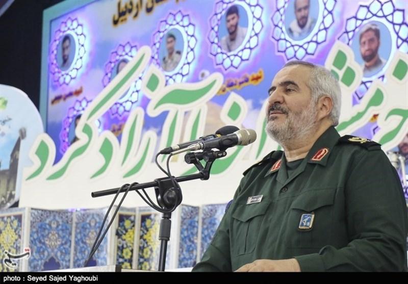 اردبیل| مقاومت ملت ایران در برابر تحریمهای خصمانه دشمنان را گیج و مبهوت کرده است