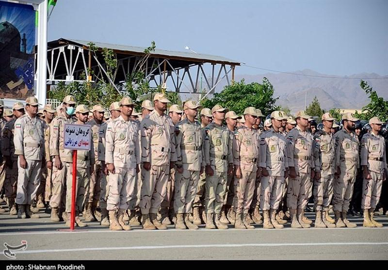 صبحگاه مشترک نیروهای مسلح در زاهدان به روایت تصویر
