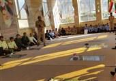 کهگیلویه و بویراحمد| دانش آموزان شهرستان لنده با شهدا تجدید میثاق کردند