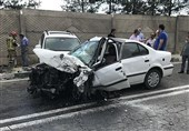 تصادف در محور سپیدان ـ یاسوج 4 کشته و 2 مصدوم بر جای گذاشت