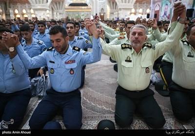 تجدید میثاق نیروهای مسلح با آرمانهای حضرت امام خمینی (ره)