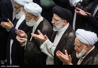 حجتالاسلام سیدابراهیم رئیسی رئیس قوه قضائیه در نماز جمعه تهران