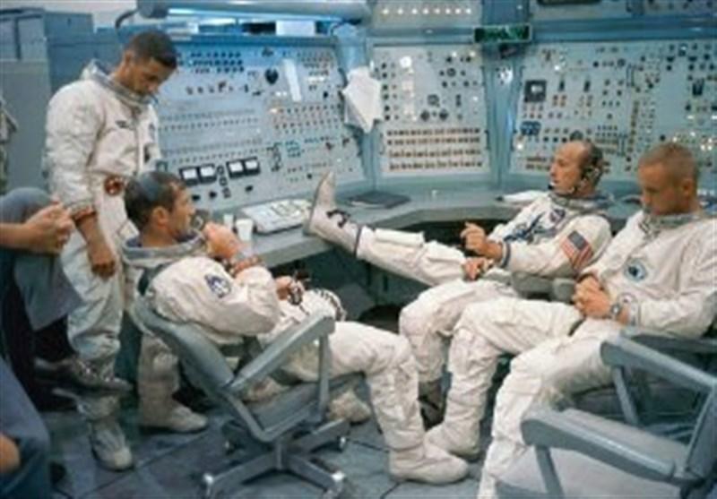 عکسهای غیررسمی از آموزش فضانوردان