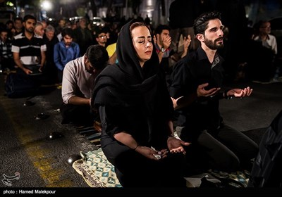 مراسم احیای شب نوزدهم ماه رمضان - حسینیه همدانیها