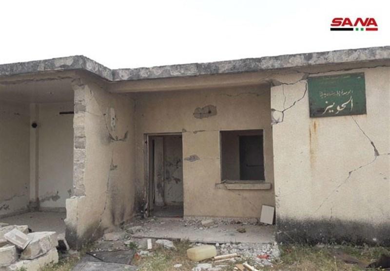 بیمارستان میدانی تروریستها در حومه حماه کشف شد+ تصاویر