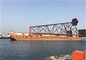 آخرین وضعیت توسعه فاز 14 پارس جنوبی/ سازه 510 تنی به آب انداخته شد