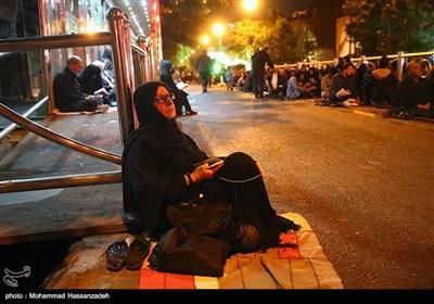 مراسم احیای شب قدر- مهدیه تهران