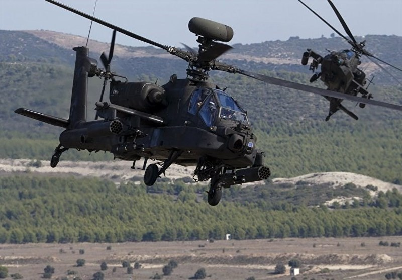 سقوط بالگرد نیروهای آمریکایی در جنوب افغانستان + فیلم