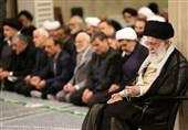 برگزاری اولین روز از مراسم سوگواری حضرت علی(ع) با حضور امام خامنهای