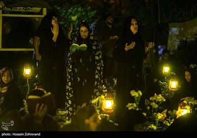 مراسم احیای شب قدر - بهشت زهرا (س)