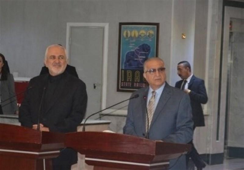 ظریف در بغداد: گفتوگوهای خوبی با مقامات عراقی درباره تحولات منطقه داشتیم