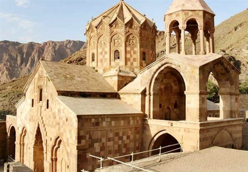 St Stephanos Church in Iran's Jolfa