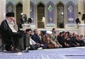 برگزاری دومین روز مراسم سوگواری شهادت امام علی(ع) با حضور امام خامنهای