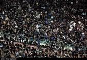 حرم منور رضوی در روز شهادت امام علی(ع) مملو از حضور زائران است