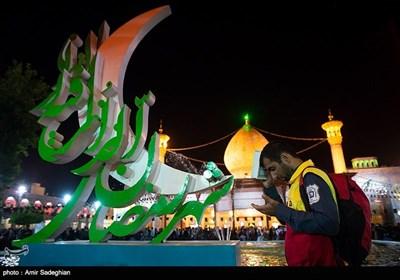 مراسم احیای شب قدر در حرم شاهچراغ (ع)-شیراز