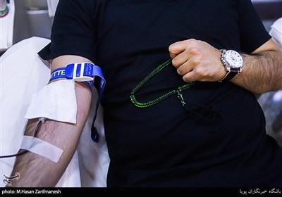 اهدای خون در شب قدر