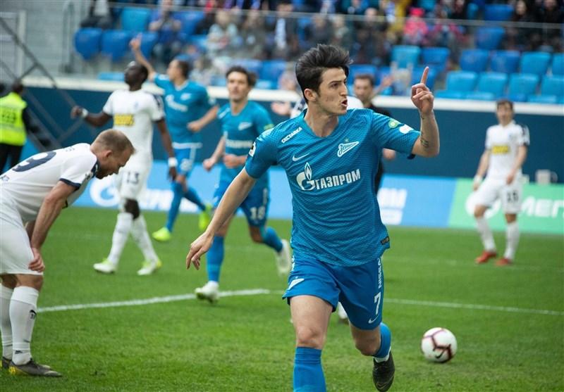 Sardar Azmoun: I Hope to Play Well Next Season
