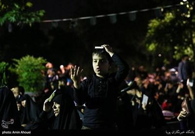 مراسم احیای شب قدر - دانشگاه تهران