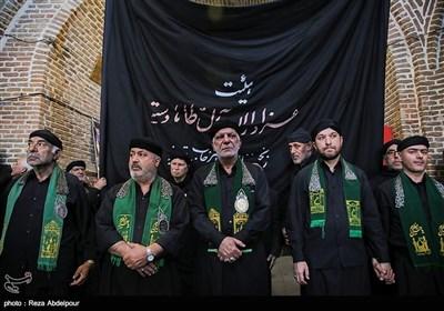 عزاداری ایام شهادت حضرت علی (ع) در بازار تبریز