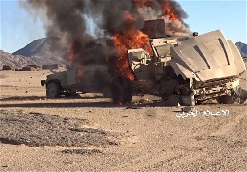 Yemeni Forces Destroy Saudi Armored Vehicles in Asir