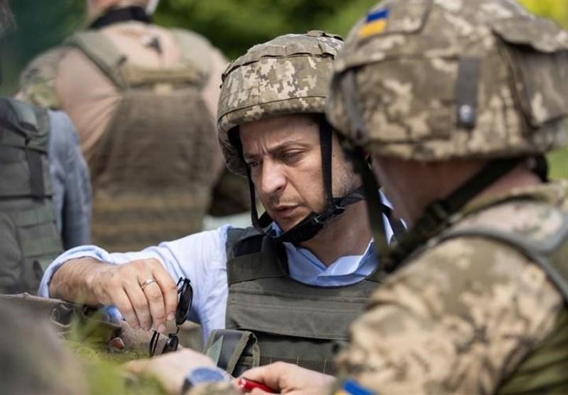 نخستین بازدید رئیس جمهوری جدید اوکراین از منطقه دونباس