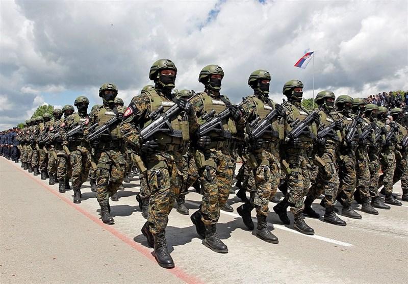آماده باش ارتش صربستان