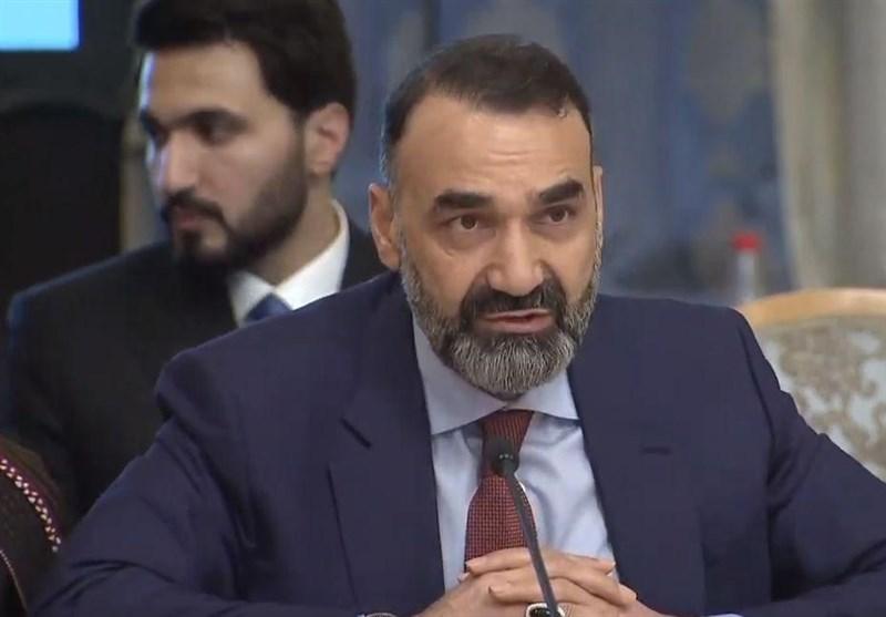 «عطامحمد نور» در مسکو: اگر افغانها صلح کنند به حضور خارجیها نیازی نیست