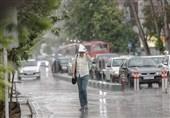 رگبار باران در 7 استان/ وزش بادهای شدید در تهران