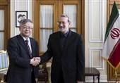 تأکید لاریجانی و سفیر چین بر گسترش همکاریهای دوجانبه