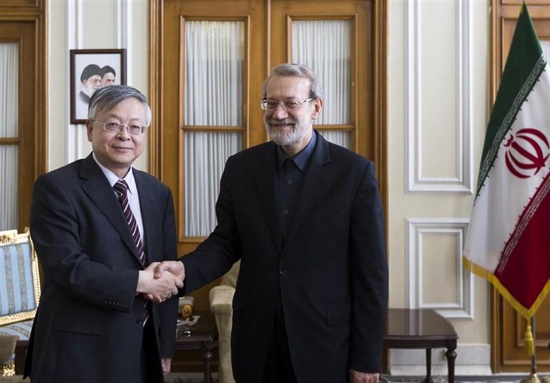 Iran's Larijani, Chinese Envoy Discuss Closer Ties