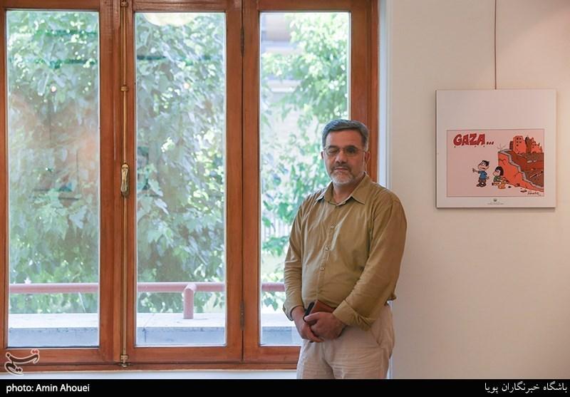 تشریح برنامههای آینده انجمن هنرهایتجسمیانقلاب و دفاع مقدس از زبان محمد حبیبی