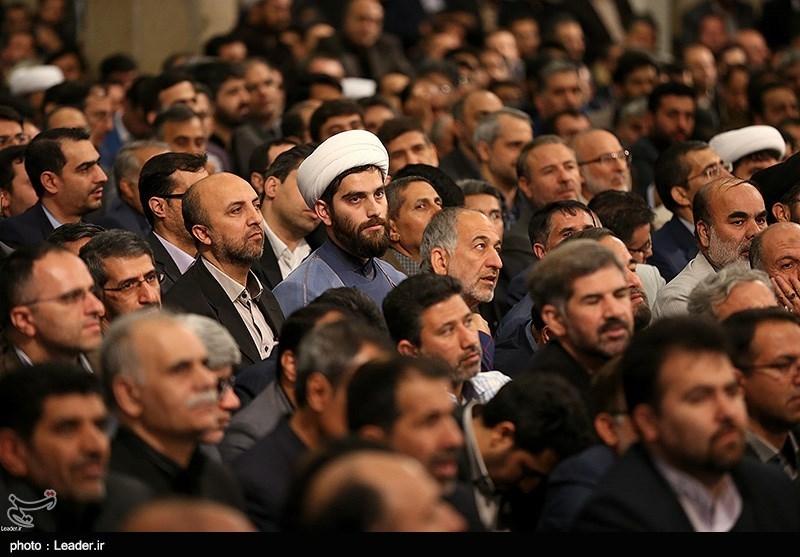 دیدار جمعی از استادان، نخبگان و پژوهشگران با رهبر معظم انقلاب