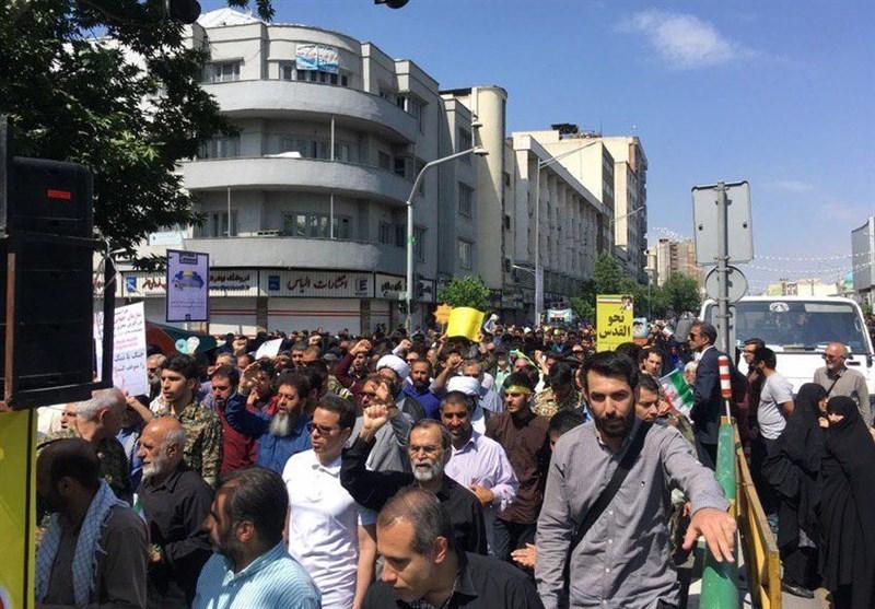 حضور نیروهای پلیس پیشگیری در تمام مسیرهای دهگانه راهپیمایی روز قدس