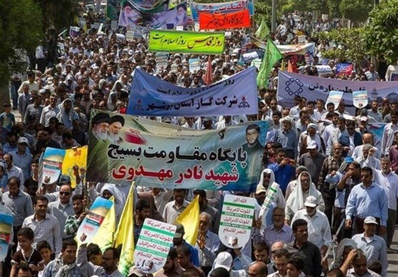 نه به معامله قرن| حضور مردم در راهپیمایی روز قدس نا امیدی دشمنان رقم زد