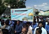 نه به معامله قرن| حضور باشکوه مردم البرز در راهپیمایی روز قدس/طنین فریاد استکبارستیزی در حمایت از قدس