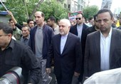 ظریف: هیچکس حق ندارد قبله مسلمانان را به آمریکاییها و رژیم صهیونیستی واگذار کند