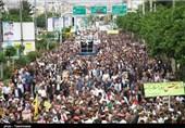 نه به معامله قرن| حضور انقلابی مردم خراسان شمالی در روز قدس 98+تصاویر