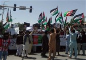 تظاهرات روز جهانی قدس در شمال افغانستان با شعار مرگ بر اسرائیل
