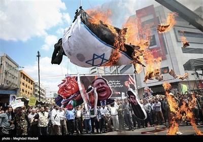 تہران میں یوم القدس کی تصویری جھلکیاں