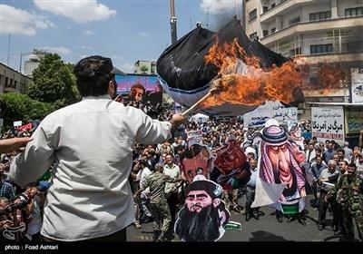تہران میں یوم القدس کی تصویری جہلکیاں