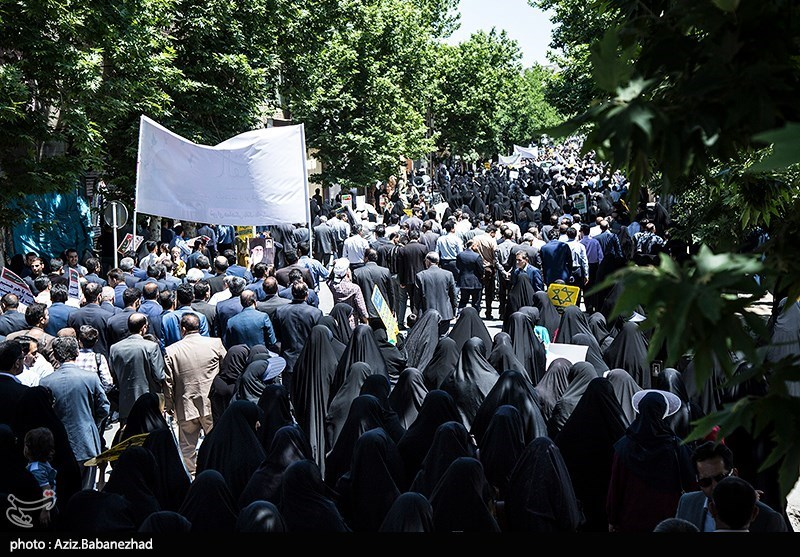 راهپیمایی روز جهانی قدس در خرم آباد