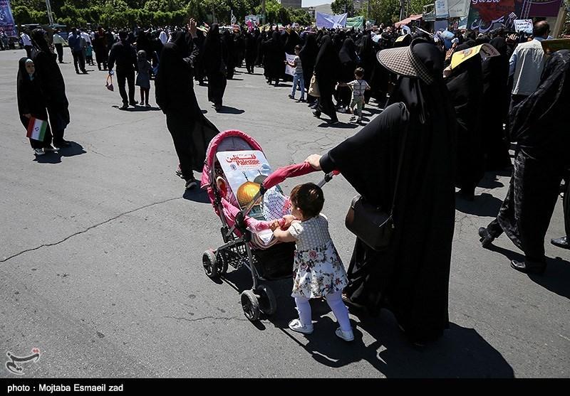 راهپیمایی روز جهانی قدس در ارومیه