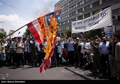 Quds Day Rallies Held in Tehran